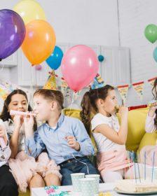 børnefødselsdag der arrangeres af børnefest