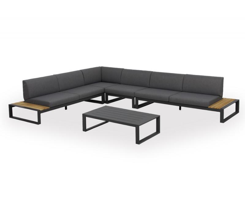 scandinavia loungesæt i minimalistisk grå