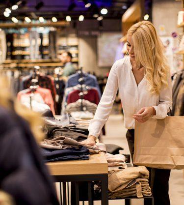 butik med kjoler