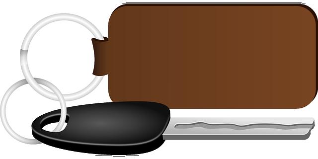 Keyhanger med logo